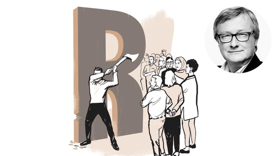 Razzia der Sprachpolizei