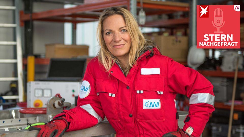 Stern Nachgefragt: Meeresbiologin und Klimaforscherin Antje Boetius