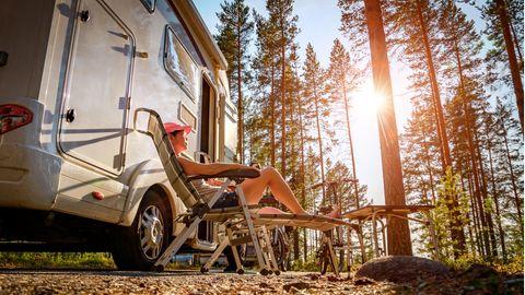 Mit dem Wohnmobil reisen