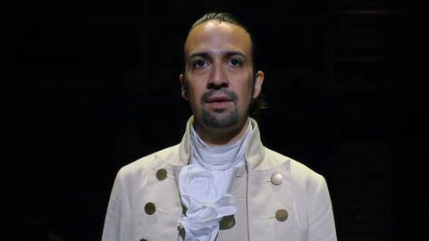 Lin-Manuel Miranda spielt die Titelrolle Alexander Hamilton in dem erfolgreichen amerikanischen Musical.
