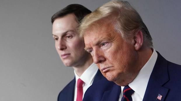 Jared Kushner und Donald Trump