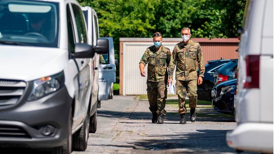 Gütersloh: Bundeswehr soll Corona-Lockdown durchsetzen