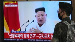 Nordkoreanischen Machthaber Kim Jong Un