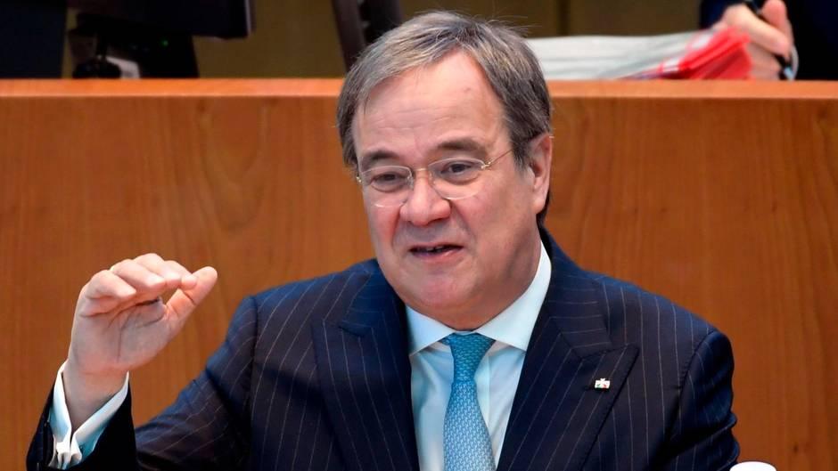 Armin Laschet über die aktuelle Coronavirus-Lage in NRW