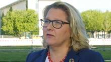 Bundesumweltministerin Svenja Schulze erklärt das Einwegplastik-Verbot im Interview.