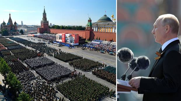 Putin inszeniert riesige Militärparade – trotz Corona