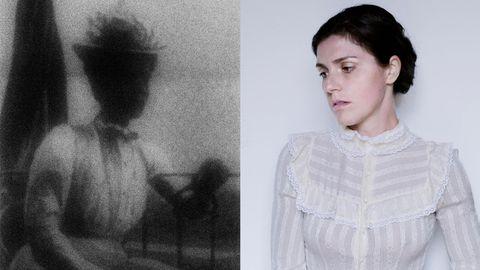 Links: rechts: Urgroßtante Linda; Annalisa Natali Murri