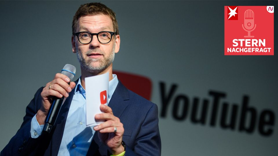"""""""STERN nachgefragt"""": """"Wir haben keinerlei Interesse daran, mit Hass Geld zu verdienen"""" – Youtubes Deutschland-Chef über den Umgang mit Hetze und Co."""