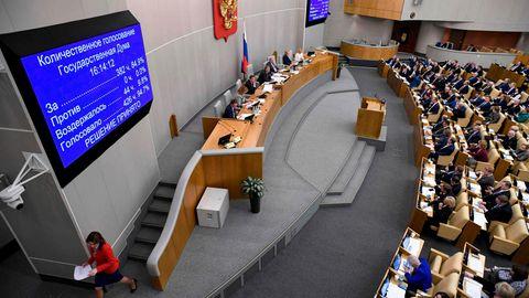 Abgeordnete der Staatsduma stimmen über den Antrag zur größten Verfassungsänderung in der Geschichte Russlands ab