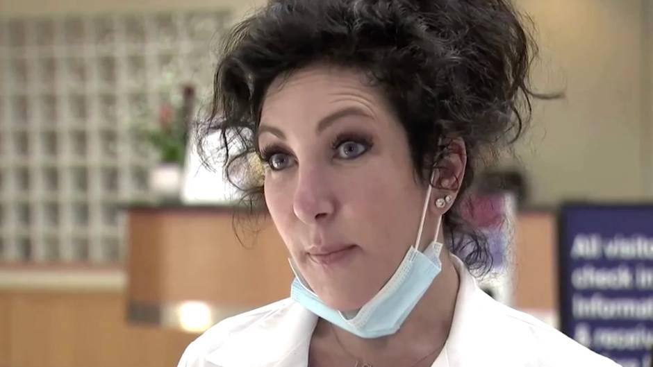 """40.000 Corona-Neuinfektionen: Notärztin in den USA: """"Das, wovor wir Angst hatten, passiert jetzt"""""""
