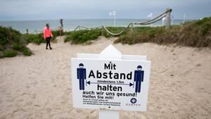Zugang zum Strandabschnitt «Buhne 16» bei Kampen auf Sylt