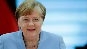 News am Wochenende: Bundeskanzlerin Angela Merkel