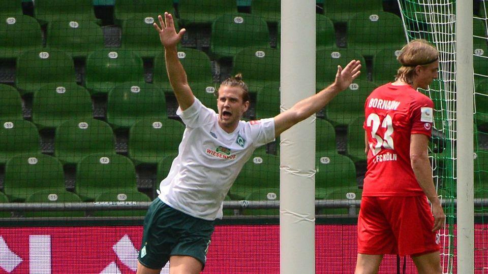 Füllkrug trifft für Werder gegen Köln