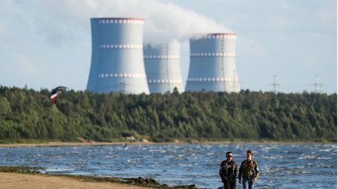 Das Atomkraftwerk Leningrad in Russland