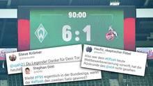 Werder im Rausch, Düsseldorfer Tränen – Twitter-Reaktion zum Bundesliga-Finale
