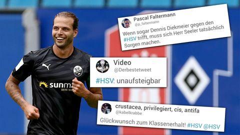 1. Bundesliga: Hamburger SV und Freiburg gewinnen - Niederlage für Hannover