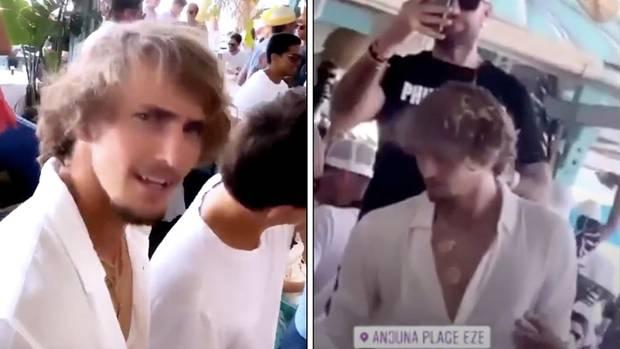 Tennis-Star Alexander Zverev bricht Selbst-Isolation für Corona-Party