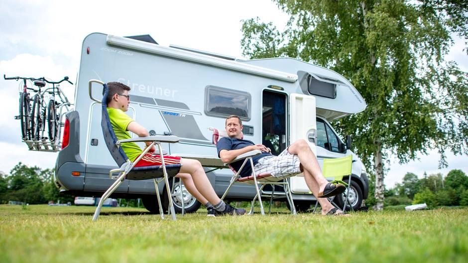 Seit Mai boomen die Buchungen für Wohnmobile in Deutschland