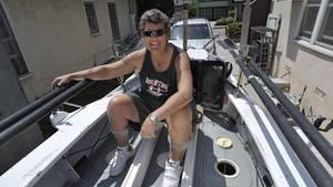 Angela Madsen wollte von Los Angeles nach Honolulu rudern