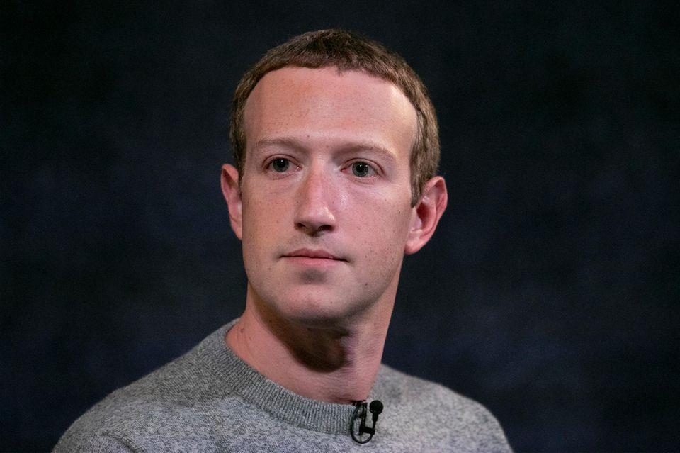 Werbeboykott bei Facebook: CEO Mark Zuckerberg