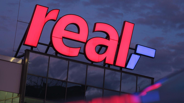 Logo der SB-Warenhauskette Real