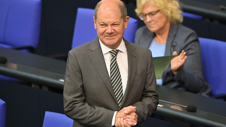 """Finanzminister Olaf Scholz ist der Vater des großen """"Wumms"""", wie er das Konjunkturpaket nannte"""