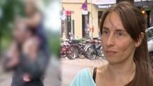 Eine Augenzeugin berichtet von dem Fall auf einem Berliner Spielplatz.