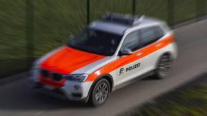 Schweizer Polizeifahrzeug