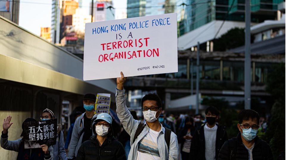"""China und Hongkong: Neues Sicherheitsgesetz: """"Das Ende Hongkongs, wie die Welt es kennt"""""""