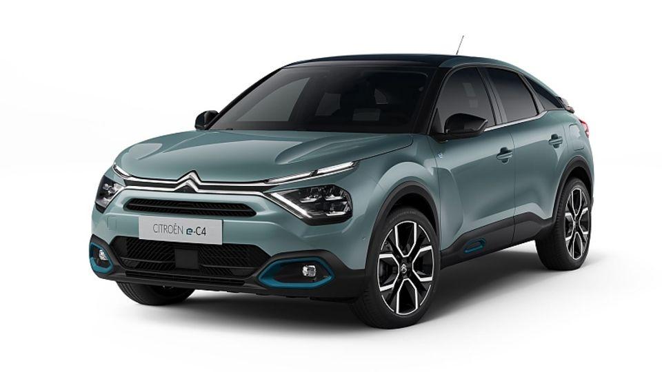 Der Citroën e-C4 hat 100 kW / 136 PS