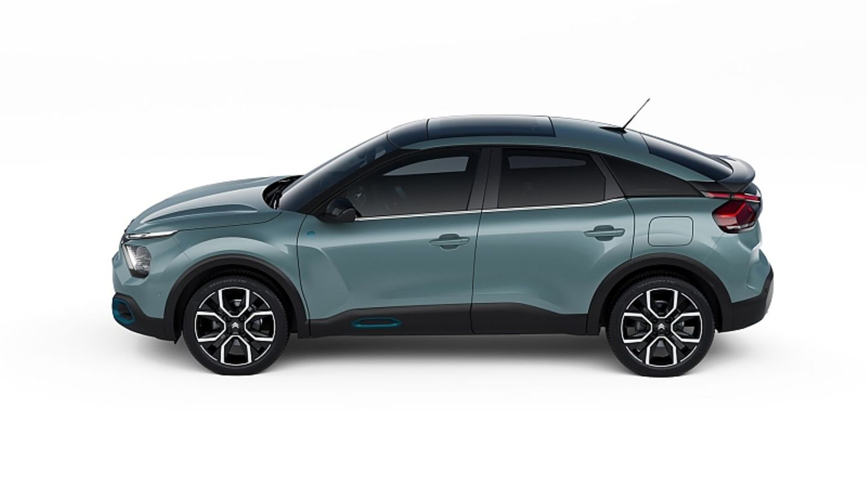 Der Citroën e-C4 teilt sich die Technik mit dem Opel Corsa-e
