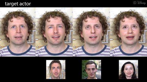 Die Deepfakes aus Disneys Forschungsabteilung wirken erschreckend echt