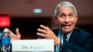 Bei einer Anhörung im Senat trug Anthony Fauco seine Sorgen vor