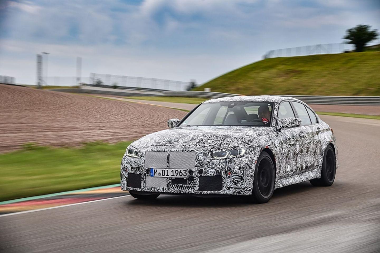 Der BMW M3 Prototyp hinterlässt bereits einen guten Eindruck