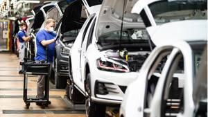 Auch in der Autoindustrie herrscht vielerorts Kurzarbeit vor – VW kehrt mit dem 1. Juli aber wieder zur normalen Produktion zurück