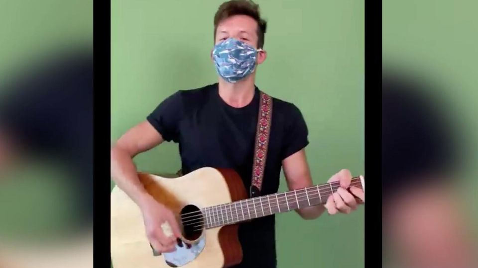Tom McGovern in seinem Tiktok-Video