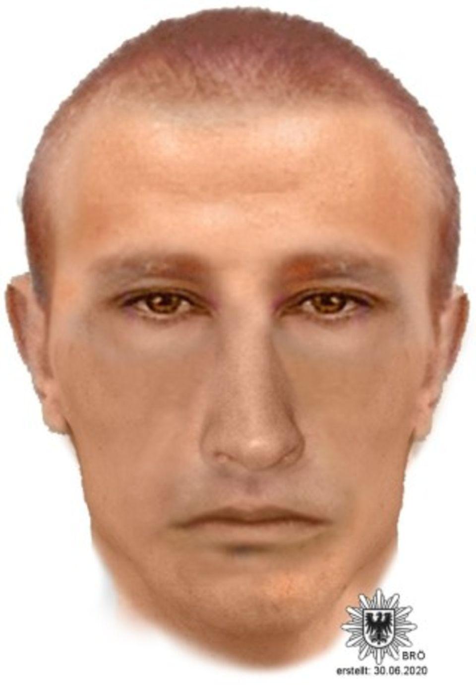 Phantombild des Tatverdächtigen