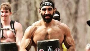 Ahmad Ayyad bei einem Hindernislauf vor seiner Infektion mit demCoronavirus