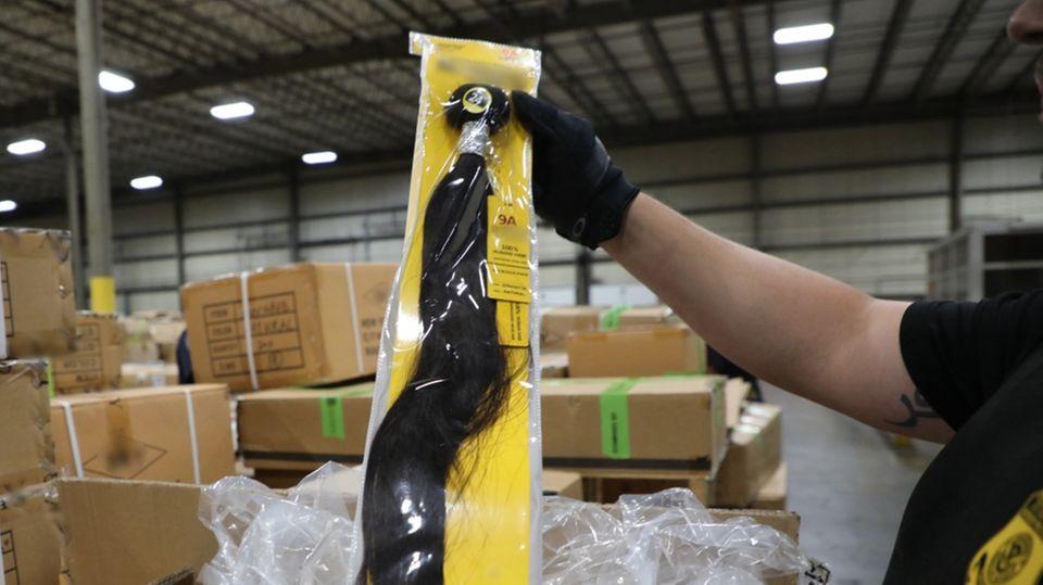US-Zoll beschlagnahmt chinesische Produkte aus menschlichem Haar