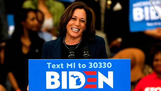 Gilt als Favoritin auf den Posten als Vizepräsidentin einer möglichen Biden-Regierung: Kamala Harris, Senatorin für Kalifornien