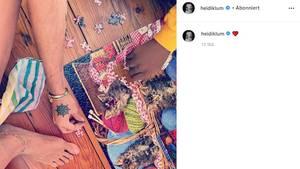 Vip News: Heidi Klum meldet sich auf Instagram zurück