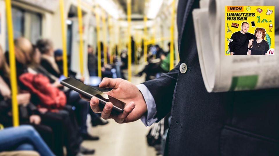 Unnützes Wissen – Technik: In deutschen Zügen werden jährlich etwa 20.000 Mobiltelefone vergessen