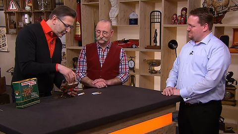 Bares für Rares: Detlev Kümmel, Horst Lichter, Verkäufer Bayer