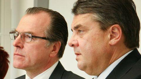 Clemens Tönnies und Sigmar Gabriel