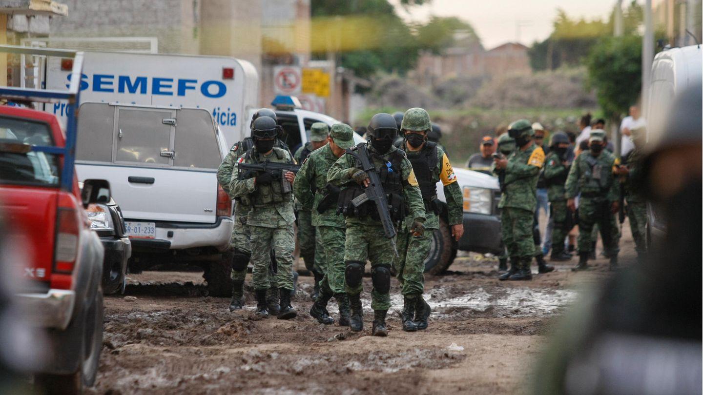 Sicherheitskräfte in Mexiko