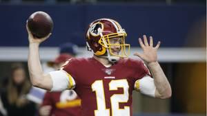 sport kompakt: Spieler der Washington Redskins mit dem Ball in der Hand