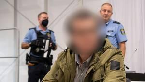"""Der """"Axtmörder"""" von Limburg am letzten Prozesstag im Landgericht"""