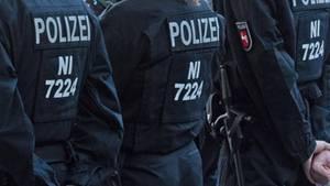 Polizisten in Hannover (Symbolbild)
