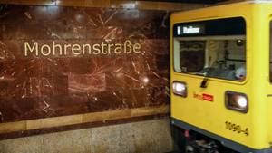 Mohrenstraße U-Bahn