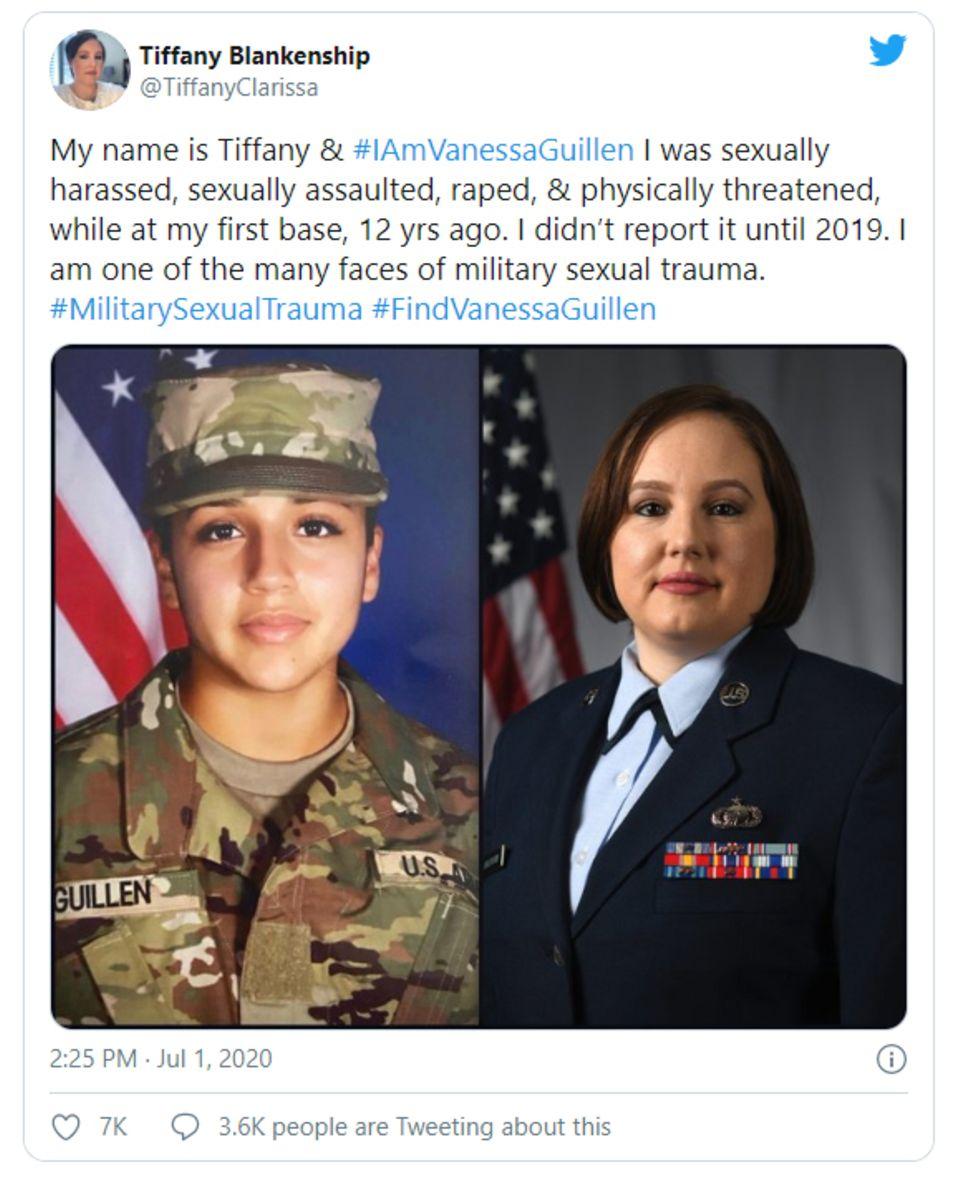 US-Army: Die Soldatin Vanessa Guillen wurde belästigt, ermordet und zerstückelt. Sie ist kein Einzelfall